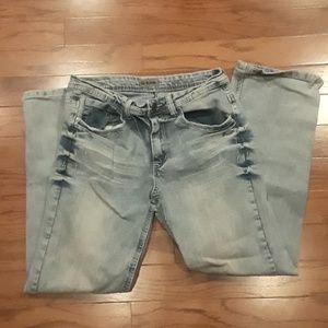 Never worn men's blue jeans